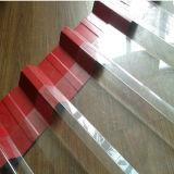Transparentes Polycarbonat-gewölbte Plastikdach-Blätter