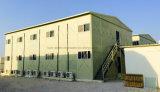 Le bâti et le panneau portiques accessibles de Sanwich pour préfabriquent l'immeuble de bureau