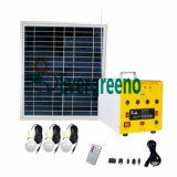 Angeschaltener Solargenerator für Hauptverbrauch