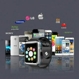 Qualité Smart Bluetooth Bracelets Sport Phone Watch pour Android