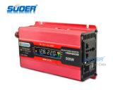 C.C. 12V do indicador de Suoer LCD aos watts do inversor 500 da potência solar do carro da C.A. 220V (SDB-500A)