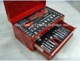Профессиональный шкаф комплекта инструмента ремонта автомобиля с инструментами