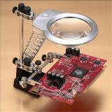 Lupa de escritorio ligera del LED para la fábrica y la reparación (EGS16132-A)