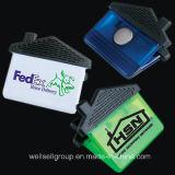 Clips en plastique promotionnels colorés Magnetclip fort d'aimant de matière plastique