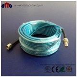 Câble coaxial de liaison de la qualité rf (LMR100-XLPE)