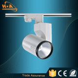 Luz ajustable de la pista de la MAZORCA del ángulo comercial LED de China