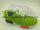 El último deporte de los niños de los zapatos de lona de la inyección calza los zapatos ocasionales