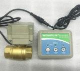 Dn20 con la válvula de cobre amarillo del sistema del detector de la detección de escape del agua del sensor del indicador