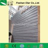 Scheda di raccordo del cemento della fibra con struttura &Cedar della venatura del legno