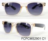 Óculos de sol plásticos da forma do desenhador brandnew para mulheres/senhora
