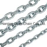 Испытания цинка горячего ПОГРУЖЕНИЯ DIN5687 G80 цепь соединения металла утюга черного высокого поднимаясь стальная для En818-2