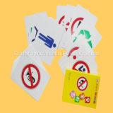 Plastikspielkarte-pädagogische Karten Flashcards mit nagelneuem Plastik