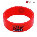 안전보안 제품 Contactless RFID 실리콘 소맷동 시계 줄 꼬리표