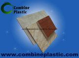 Folha azul da espuma do PVC da cor/pele dura de superfície Shining da placa