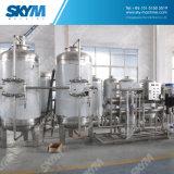 Sistema do tratamento da água com o filtro da osmose reversa