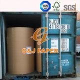 papier d'impression offset de 60GSM 70GSM 80GSM avec l'emballage de bobine