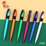 Mismo pluma de bola modificada para requisitos particulares pluma plástica promocional de la insignia de los items del regalo del gorjeo en venta