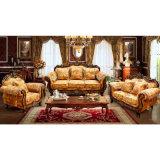 خشبيّة جلد أريكة يثبت لأنّ يعيش غرفة أثاث لازم ([929و])