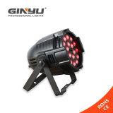 단계 장비 방수 LED 18X10W RGBW 디스코 동위 빛