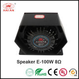 De Waarschuwing van de Politiewagen Speaker/Emergency van de Spreker van de Sirene van de Auto van het Alarm van de Spreker van de Hoorn van de Sirene van de politie 100W met Spreker