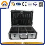 Случай нося оборудования серебра случая инструмента алюминиевого случая с перегородками ЕВА