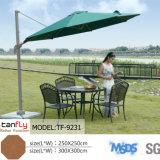 Populares al aire libre de Sun Garden Parasol único paraguas de tejado