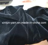 Оптовые 100%Polyester упрощают Flocking связанная ткань драпирования