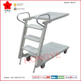 Climbing pliable Step Ladder Truck avec Two Platforms (OW-FLT)