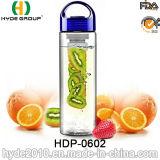 700ml BPA освобождают бутылку воды Eastman Tritan материальную, подгонянную пластичную бутылку вливания плодоовощ (HDP-0602)