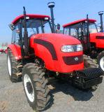 120HPフロント・エンドローダーが付いている農業機械トラクター