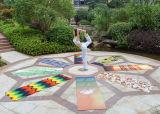Digitale Afgedrukt van de Sublimatie van de Hitte van de Mat van de yoga, Matten van de Yoga van de Machine de Wasbare