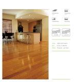 pavimentazione di bambù solida di Strandwoven del lucernario di spessore di 14mm