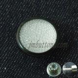 모조 다이아몬드를 가진 수정같은 Glassic 주문 청바지 셔츠 단추
