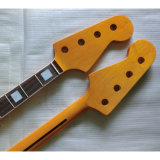 Rosewood Fingerboard 4 String Canadian Maple Jazz Bass Neck