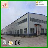 Grand entrepôt de structure métallique de l'espace