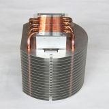 부속 구리 관 열 싱크를 각인하는 LED 열파이프 방열기 금속