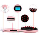 OEM Professional Hair Straightener con l'affissione a cristalli liquidi Beautiful Star Hair Brush Straighener di Brush Digital