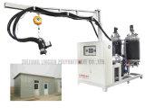 Máquina que hace espuma de relleno de la casa del aislante del poliuretano movible del panel