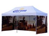 新式屋外広告の表示のための玄関ひさしのテントを現れなさい