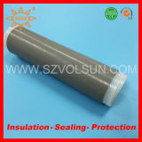 Tubazione fredda schermata flessibile dello Shrink della gomma di silicone del cavo