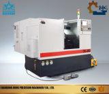 Máquina del torno del CNC de la velocidad 4000 del eje de rotación con la base inclinada