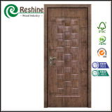 Porta interior de madeira da melamina composta do MDF de HDF