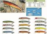 50mm 70mm 90mm le prix bon marché d'une usine --- Crankbait de pêche en plastique dur fait sur commande fait par qualité - Wobbler - attrait de pêche de Popper de cyprins