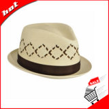 Chapeau de papier de chapeau feutré de chapeau de mode de chapeau