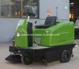 Máquina comercial da vassoura da limpeza do assoalho da rua da estrada