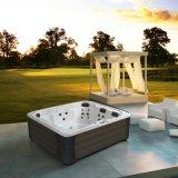 Monalisa 유럽 디자인 옥외 소용돌이 온수 욕조 (M-3384)