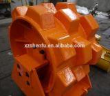 Уплотнение землечерпалки катит Compactor колеса землечерпалки