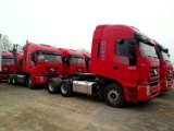 Genlyon 6X4 420HPのトラクターのトラックの熱い販売