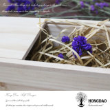 Hongdao сползая коробку крышки деревянную для солнечных очков пакуя оптом