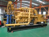 Conjunto de generador de la central eléctrica de la turbina de gas de la naturaleza de China Lvhuan 500kw de la potencia verde con los generadores industriales refrigerados por agua y de CHP